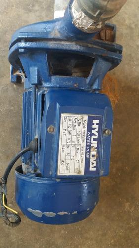 bomba de agua marca hiunday 3/4 hp