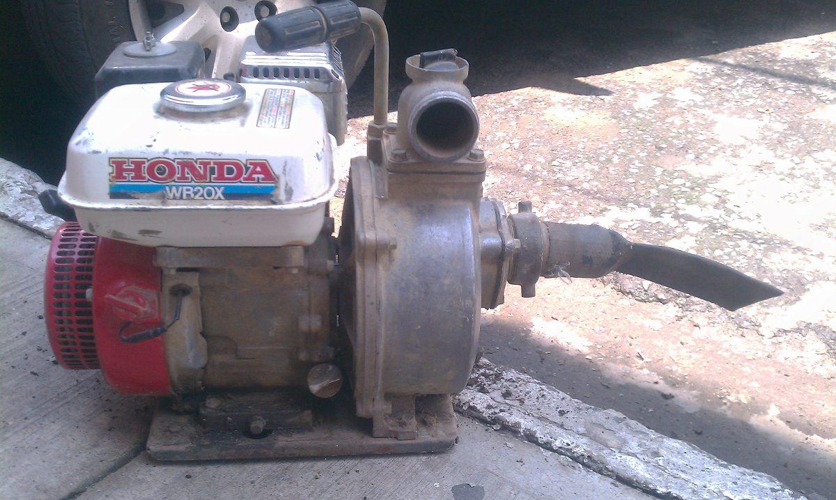 Bomba de agua marca honda de gasolina de 3 5 hp 3 800 for Marcas de bombas de agua