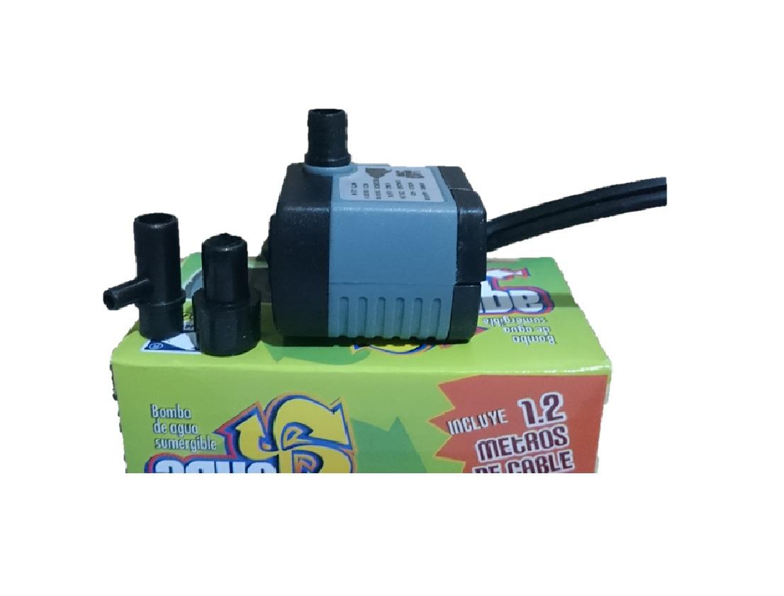 Bomba de agua mini sumergible 230l h fuente acuario - Bomba de agua fuente ...