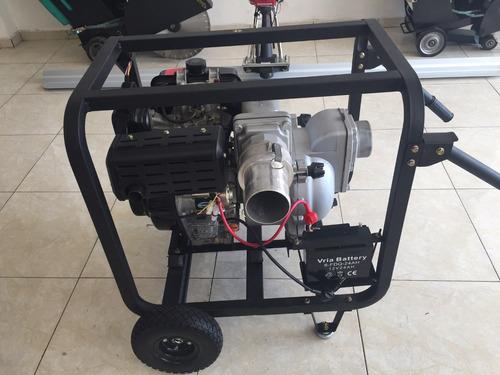 Bomba de agua motor di sel 12hp traga s lidos 3x3 for Bomba manual para pintar con cal