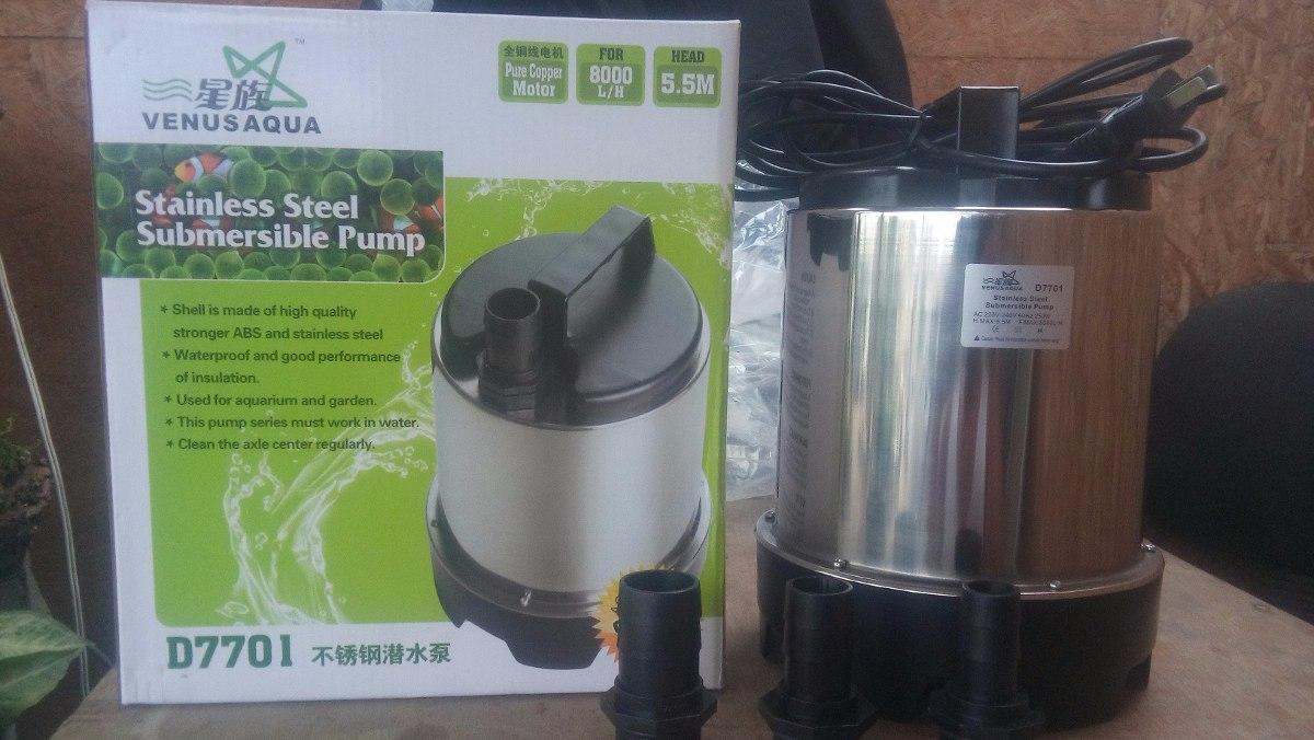 Bomba de agua para cascada marca venusaqua wp d7701 s for Bomba para jardin