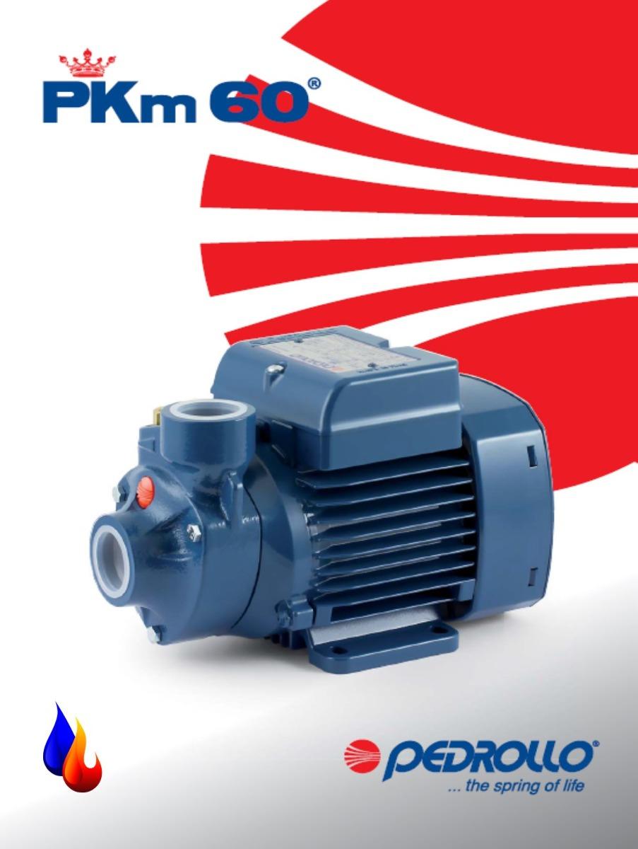 Bomba de agua pedrollo 1 2 hp pkm60 italiana nuevas - Bombas de agua ...