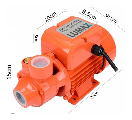 bomba de agua periférica 0.5 hp 550w oferta irresistible