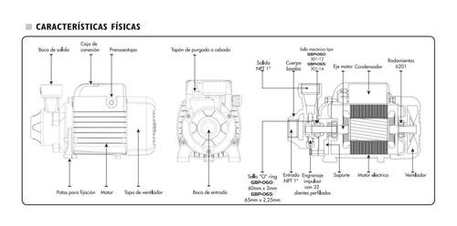 bomba de agua periferica 1/2 hp 2 año garatía 110v exceline