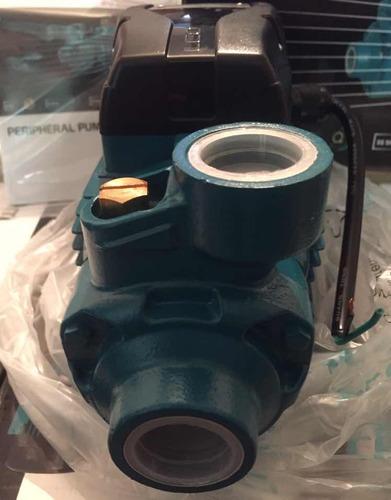 bomba de agua periferica 1/2 hp, leo 110 volts. 1x1 europea.