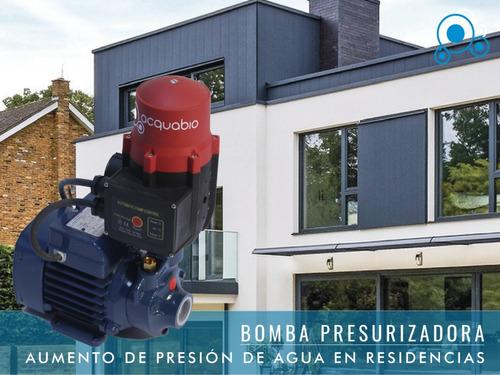 bomba de agua - presurizadora elevadora presión - pedrollo