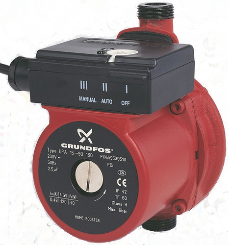 bomba de agua presurizadora grundfos upa 15-90