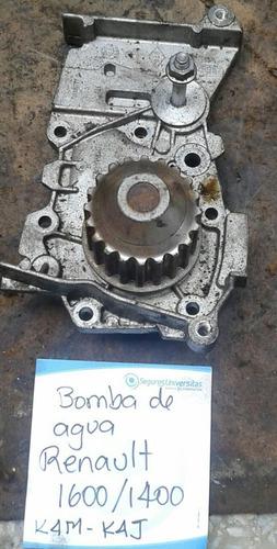 bomba de agua renault motor 1400/1600/ k4m/k4j