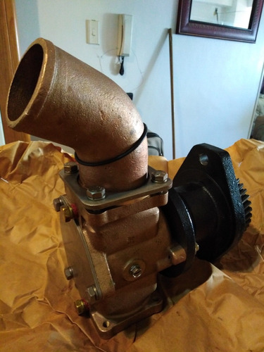 bomba de agua salada para motor marino cummins qsc 8.3