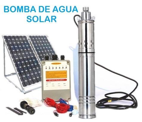 Bomba de agua solar pozo profundo altura 66 mts 692 for Bomba de agua para pozo