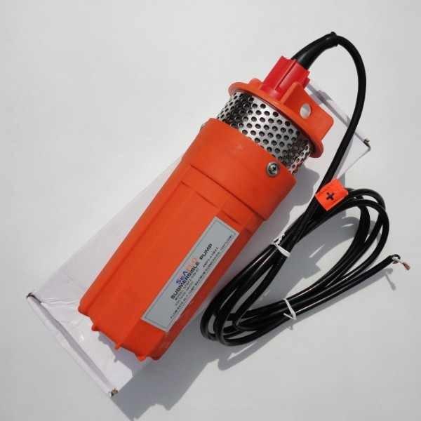 Bomba De Agua Sumergible 12 24 Voltios Dc Panel Solar