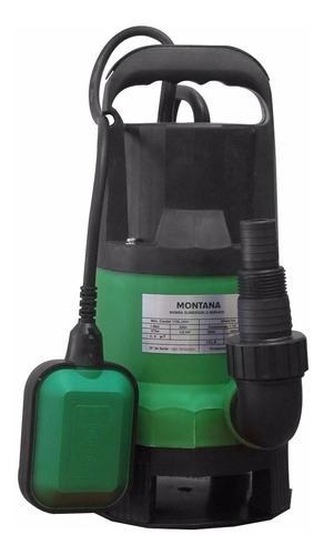 bomba de agua sumergible 1/2 hp montana - desagote