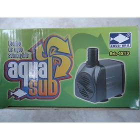 Bomba De Agua Sumergible 1200l/h 2m Pecera Fuente Etc