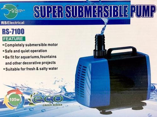 bomba de agua sumergible rs 7100 5000l/h 5m cascada estanque