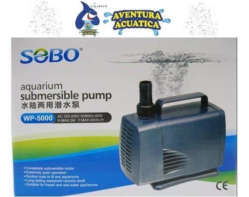 bomba de agua sumergible wp-5000 sobo