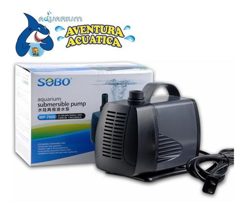 bomba de agua sumergible wp-7000 sobo