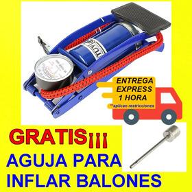 Bomba De Aire Inflador De Llanta Moto Bicicleta Auto Balones