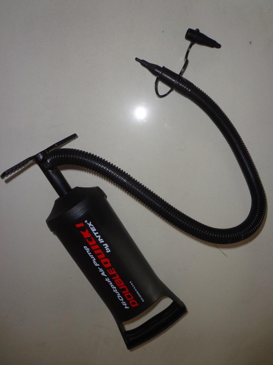 Bomba de ar p inflar infl vel piscina colch o com 3 bicos r 39 99 em mercado livre - Bombas de depuradoras para piscinas ...