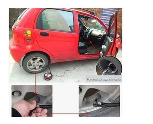 bomba de ar para veiculos 12v pneu de carro e moto, bola