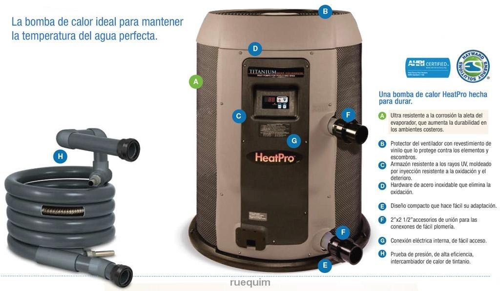 Bomba de calor hayward para alberca 110000 btu u s 4 410 - Bomba de calor geotermica precio ...
