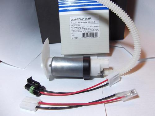 bomba de combustible electrica original palio, r-19 , escort