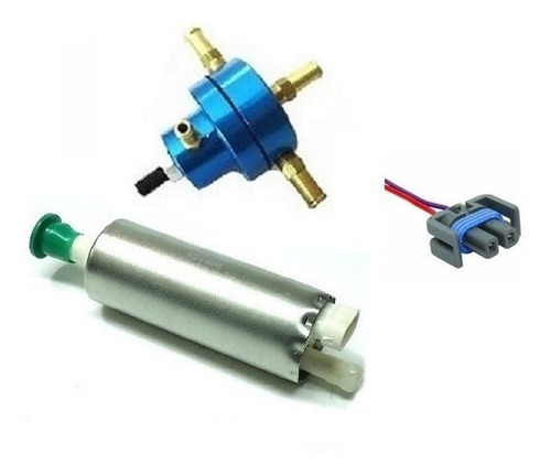 bomba de combustivel externa + dosador hp + chicote