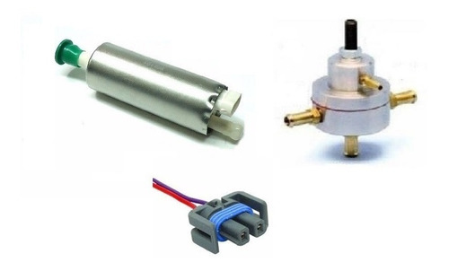 bomba de combustivel externa + dosador hp + conector chicote