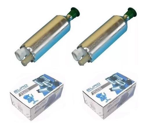 bomba de combustivel  flex euro monza/kadett nova  com 2 pçs