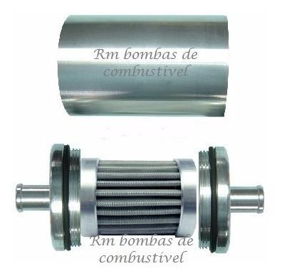 bomba de combustivel gti externa + filtro lavavel promoção