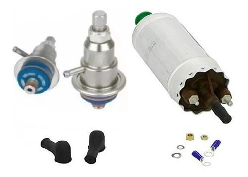 bomba de combustivel gti + regulador de pressão ajustavel