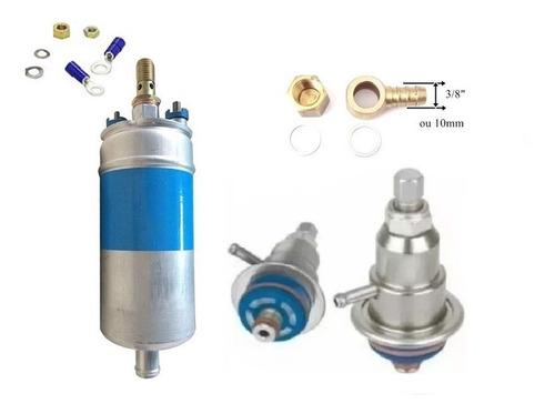bomba de combustivel mercedes 12 bar + regulador pressão