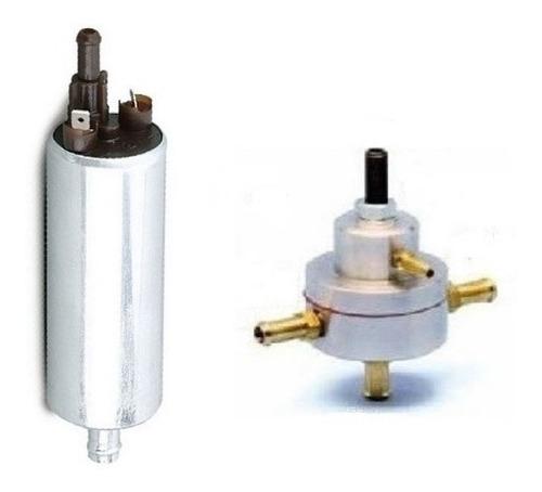 bomba de combustivel monza + dosador pequeno azul ou prata