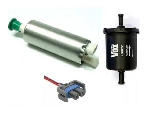 bomba de combustível monza,kadett,ipanema + filtro + chicote