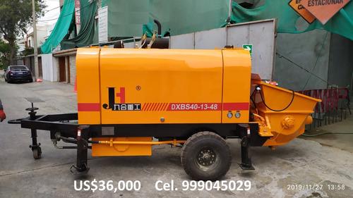 bomba de concreto  40m3/hr