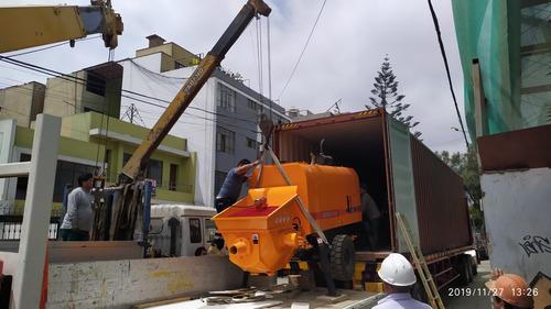 bomba de concreto 40m3/hr nueva