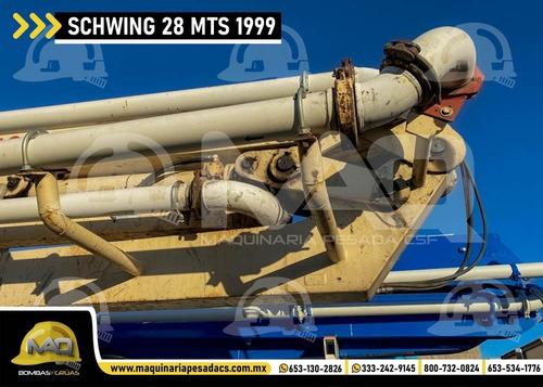 bomba de concreto mack - schwing 28 mts 1999