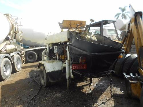 bomba de concreto pedra1 putzmeister, aceiita cartoes bnds