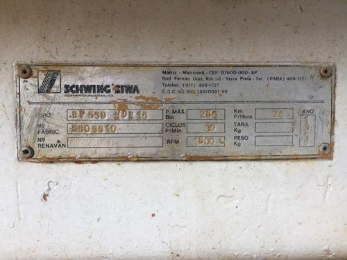 bomba de concreto schwing bp550 1996, equivale spl2000