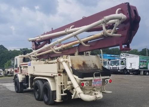 bomba de concreto schwing camion 1993 alt bombeo hasta 28 mt