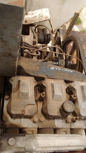bomba de concreto schwing p 88 + mercedes-benz mb 608d