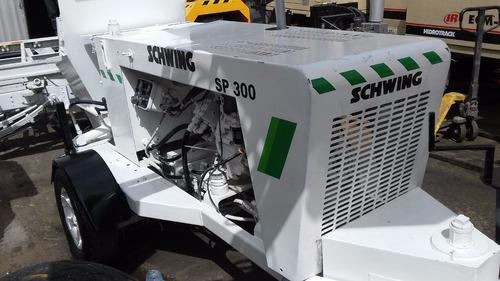 bomba de concreto schwing sp-305