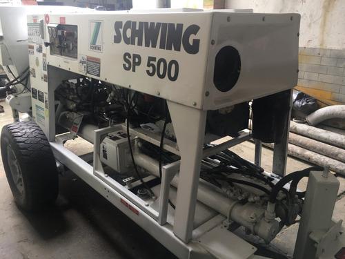 bomba de concreto schwing sp 500
