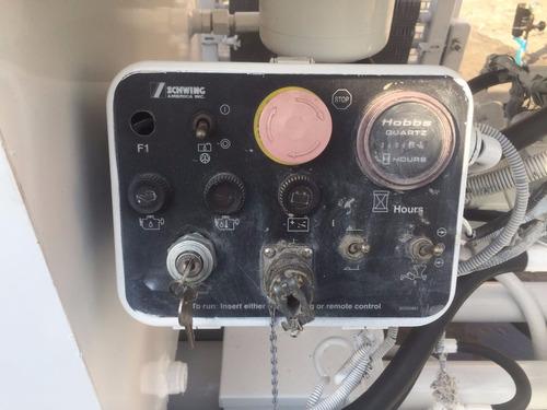 bomba de concreto schwing sp-500 reparada