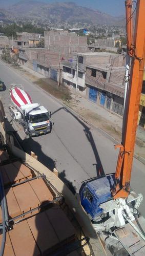 bomba de concreto telescópica 28 mts