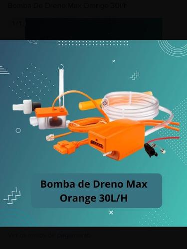 bomba de condensação para ar condicionado maxi orange