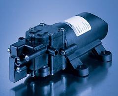 bomba de diafragmas 12 vcd, 1 gpm, 40 psi pyf