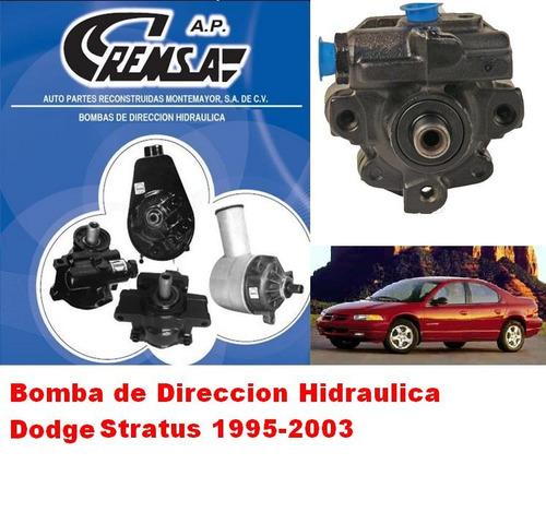 bomba de direccion hidraulca  licuadora dodge stratus 2003