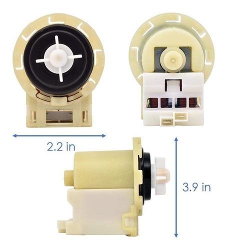 bomba de drenaje de lavadora confiable 8540024. partes ...