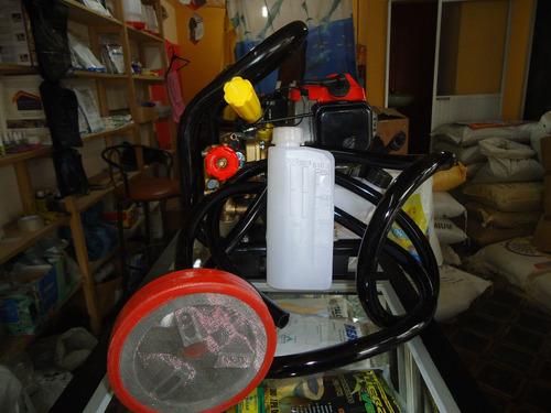 bomba de fumigacion mitsubishi semi-estacionaria ¡increible?