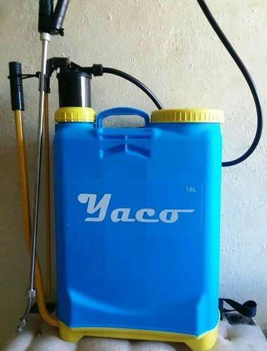 bomba de fumigar yaco de 20 litros y 16 litros